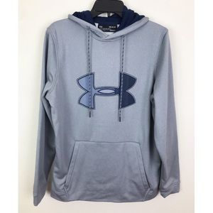 Under Armour Mens Loose Fit Sweatshirt Hoodie